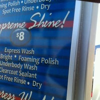 Photo taken at Shine On Express Car Wash by Sumalee T. on 5/2/2012