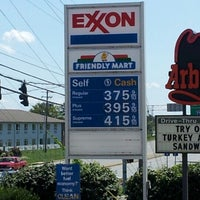 Photo taken at Exxon by Bobert H. on 8/12/2012