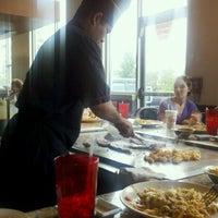 Photo taken at Shogun Japanese Steak House by Rachel C. on 7/23/2012