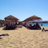 Photo taken at Agios Prokopios Beach by Gus K. on 8/21/2012