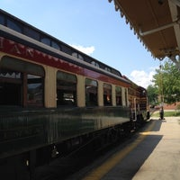 Photo taken at Conway Scenic Railroad by Greg B. on 6/22/2012