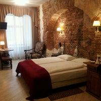 Photo taken at Hotel Justus Riga by Rita K. on 6/11/2012