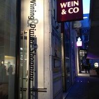 Photo taken at WEIN & CO Bar Stephansplatz by Sergey A. on 3/3/2012
