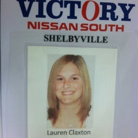 Photo taken at Victory Nissan South by Lauren C. on 4/20/2012