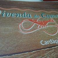 Photo taken at Vivenda do Camarão by Bruno O. on 6/26/2012