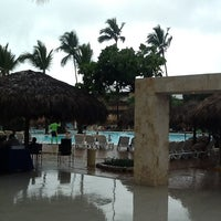 Photo taken at Pool Iberostar Punta Cana & Dominicana by Jill B. on 4/25/2012