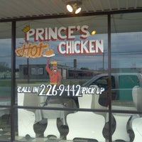 Photo taken at Prince's Hot Chicken Shack by phil w. on 3/11/2012