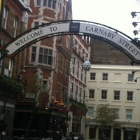 Photo taken at Carnaby Street by Louise D. on 3/31/2012