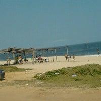 Photo taken at Praia da Barra de Maricá by Catia M. on 9/7/2012
