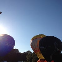 Photo taken at Up Ballooning Opstijgplaats by Sylvie V. on 9/9/2012