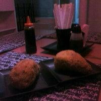 Photo taken at Mr. Miyagi Sushi Bar by Lóren G. on 8/21/2012