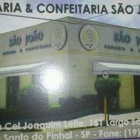 Photo taken at Padaria São João by Marcão B. on 4/30/2012