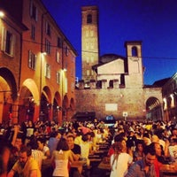 Photo taken at Piazza Verdi by Cecilia B. on 7/17/2012
