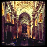 Photo taken at Chiesa di San Luigi dei Francesi by Christophe F. on 7/29/2012