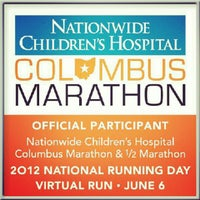 Photo taken at Nationwide Children's Hospital Columbus Marathon & 1/2 Marathon by James M. on 6/5/2012