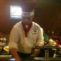 Photo taken at VKI Japanese Steakhouse by Julie L. on 5/26/2012