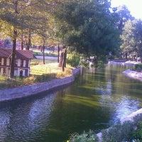Photo taken at Hasbahçe Parkı by Salih C. on 7/27/2012