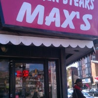 Photo taken at Max's Cheese Steaks by Mike P. on 4/10/2012