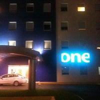 Photo taken at One Hoteles by Eduardo C. on 6/21/2012