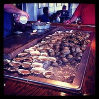 Photo taken at Matunuck Oyster Bar by Caitriona™ on 4/12/2012