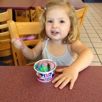 Photo taken at Baskin-Robbins by Mike S. on 5/31/2012