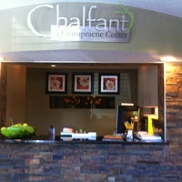 Photo taken at Chalfant Chiropractic by Ashley W. on 4/12/2012
