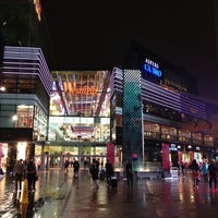 Photo taken at Westfield Stratford City by WorldTravelGuy on 8/7/2012