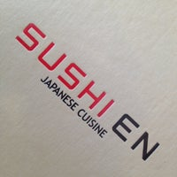 Photo taken at Sushi En by Christian A. on 8/22/2012