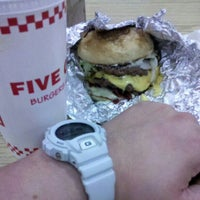 Photo taken at Five Guys by Jerry L. on 6/8/2012