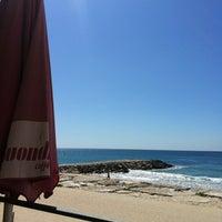 Photo taken at Praia do CDS by Teófilo F. on 3/20/2012
