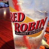 Photo taken at Red Robin Gourmet Burgers by Brad S. on 6/27/2012