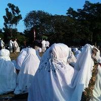 Photo taken at Lapangan kompleks unhas barayya by Dian H. on 8/18/2012