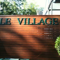 Photo taken at Le Village by thomas r. on 5/28/2012