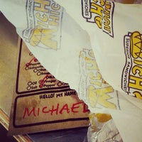 Photo taken at Which Wich? Superior Sandwiches by Michael O. on 6/30/2012