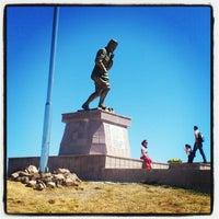 Photo taken at Kocatepe Anıtı by Emrah K. on 8/25/2012