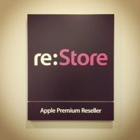 Photo taken at re:Store by Артем С. on 5/1/2012