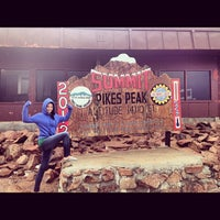 Photo taken at Pikes Peak by Vilyana K. on 8/16/2012