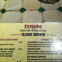 Photo taken at Ceviche Tapas Bar & Restaurant by Christina F. on 7/29/2012