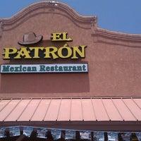 Photo taken at El Patron by Steve S. on 7/7/2012