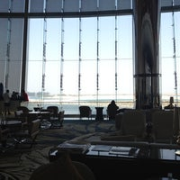 Photo taken at Jumeirah at Etihad Towers by Lei J. on 8/22/2012