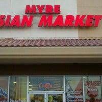 Photo taken at Myre Asian Market by Nova K. on 2/2/2012
