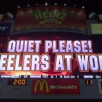 Photo taken at Heinz Field by Bonnie P. on 8/20/2012