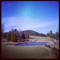 Photo taken at Lake Placid Club Resort Golf by David P. on 4/13/2012