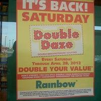 Photo taken at Rainbow Foods by Jennifer S. on 3/6/2012