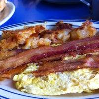 Photo taken at Landmark Diner by Andrew K. on 8/21/2012