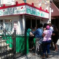 Photo taken at Mario's Italian Lemonade by Andy B. on 8/7/2012