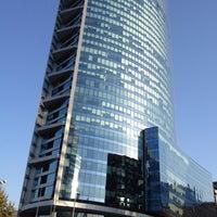 Photo taken at Torre Titanium by Matías Ignacio M. on 3/9/2012