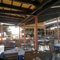 Photo taken at Feral ribarski restoran by György G. on 8/11/2012