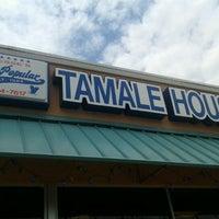 Photo taken at La Popular Tamale House by John U. on 8/15/2012