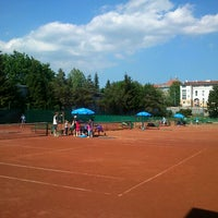 Photo taken at Zetor Brno - Židenický Lawn Tennis Club by Gabriela Dedkova on 5/8/2012